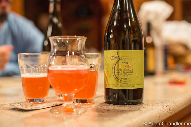 Casey Fruit Stand Farmhouse Ale - Montmorency Cherry