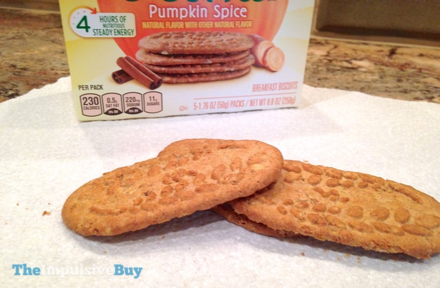 Nabisco Limited Edition Pumpkin Spice belVita Breakfast Biscuits 3