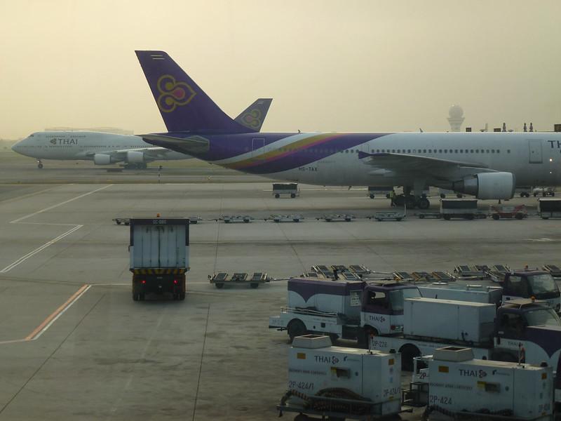 1 - Carnet de Thaïlande - 19 - Bangkok Suvarnabhumi