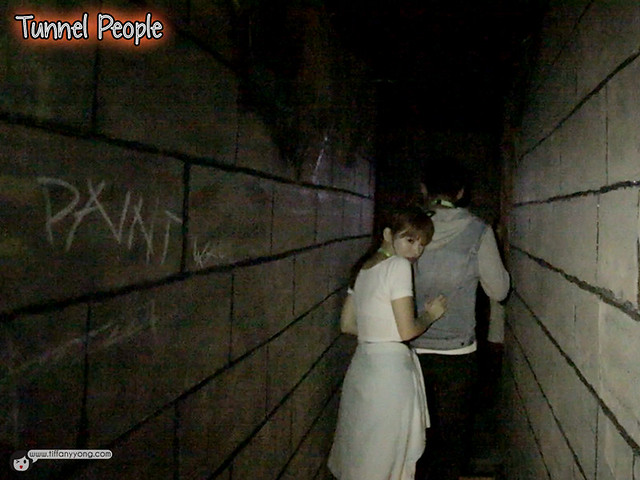 HHN5 Tunnel people Tiffany Yong
