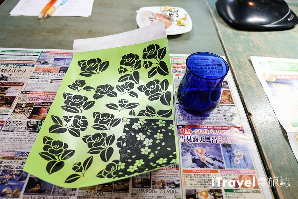 东京手作课程 喷砂玻璃工艺体验 22