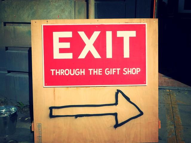 exit through the gift shop, banksy, dismaland, weston super mare