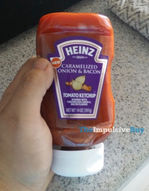 Heinz Caramelized Onion & Bacon Tomato Ketchup