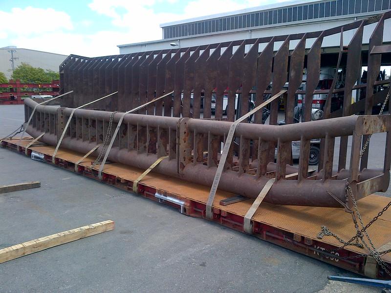 Sea Rake Ready for Rail