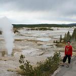 74- Yellowstone. Norris Geyser Basin