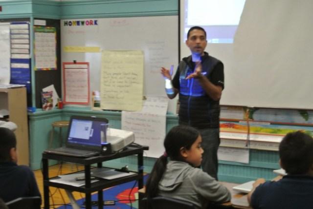 Chicago Google Team Visits Whittier School