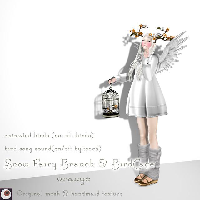 Snow Fairy Orange AD