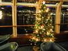 Christmas tree on the ship