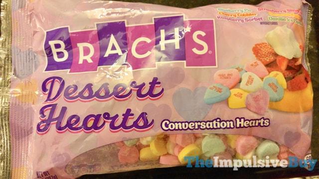 Brach's Dessert Hearts Conversation Hearts