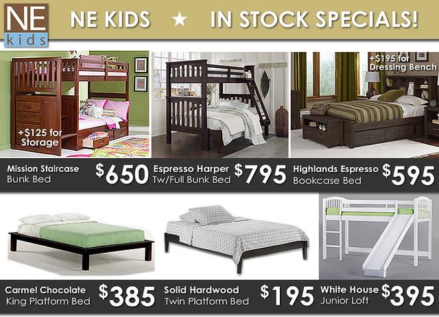 NE Kids In Stock Specials