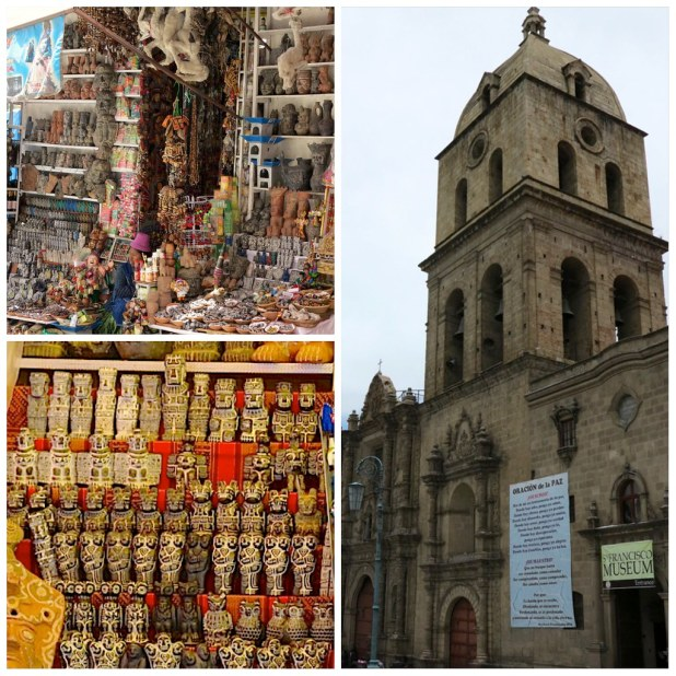 Basilica San Francisco y Mercado de las Brujas