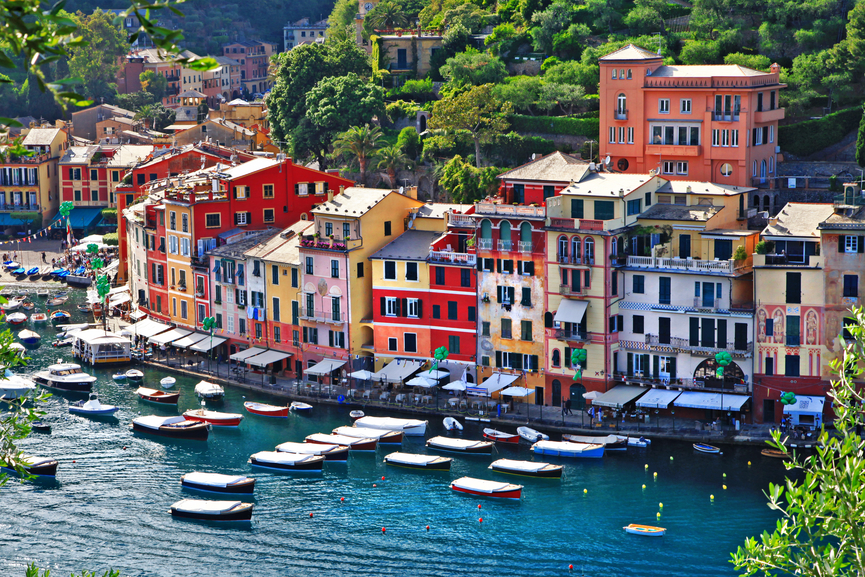 incredible Italia series- luxury Portofino, Liguria