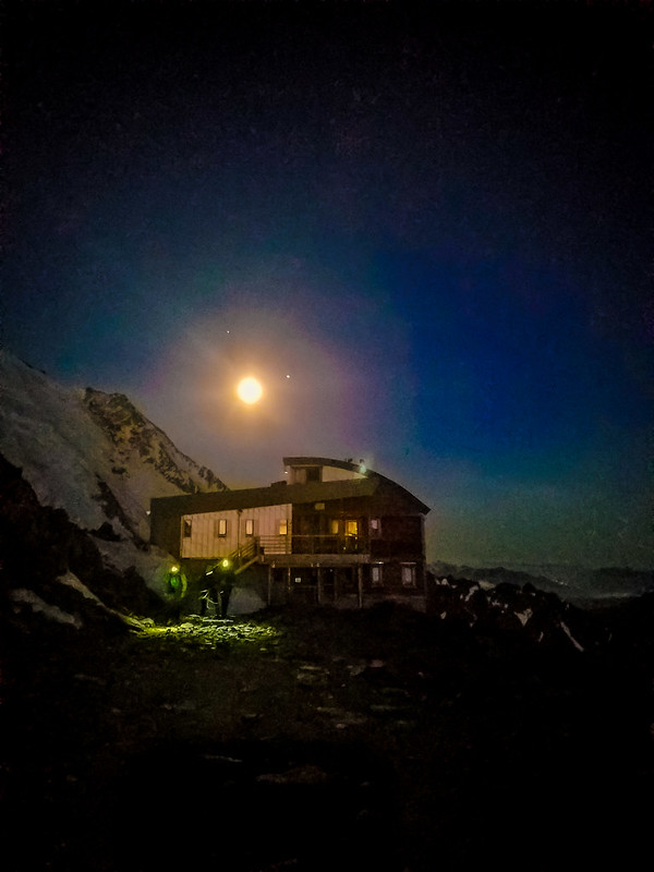 Moon Over Tete Rousse