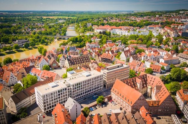 Ulm Cityscape