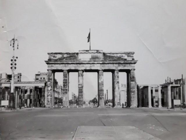 Brandenburg Gate circa 1950s