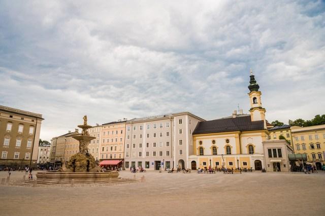 The Residenzplatz