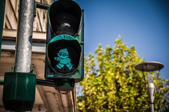 Little Green Walking Man