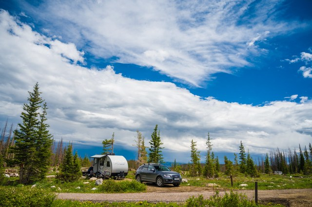 Photo Skies over Nash Fork Campground