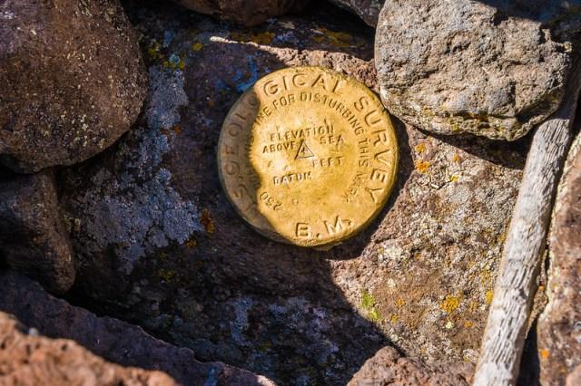 Proof - Flat Top Mountain Geodetic Marker