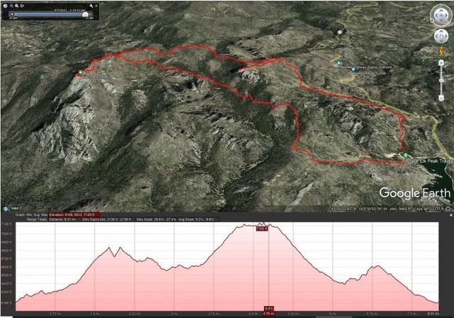 Black Elk Peak Google Earth