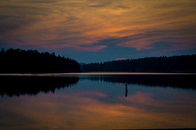 Stockade Sunset