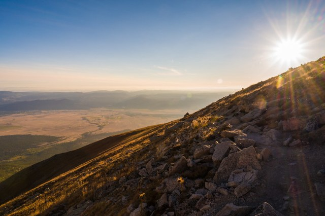 Mount Princeton Sunburst