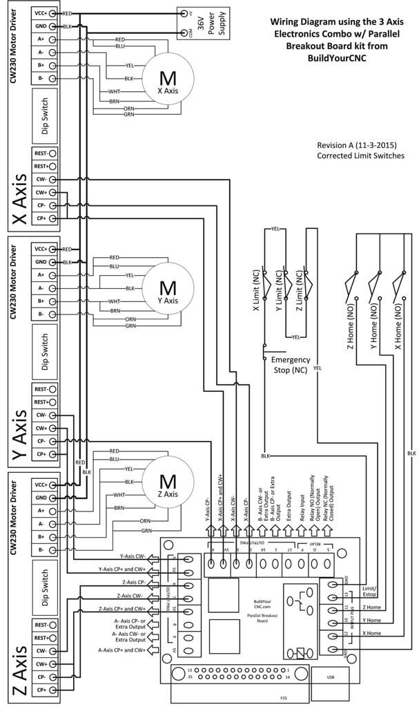 Gecko G540 Wiring Diagram - Wiring Schematics