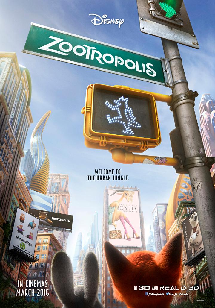 zootropolis juliste
