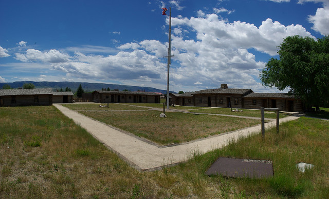 Fort Caspar (reconstruction), Casper, Wyoming, July 11, 2010