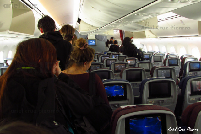 Descenso del avión - LAN841