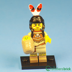 Collectible Minifigs Series 15 Native American Woman