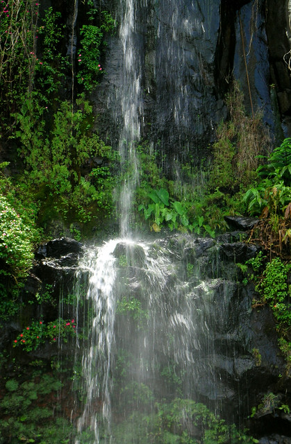 Waterfall At Blue Pool Maui Flickr Photo Sharing