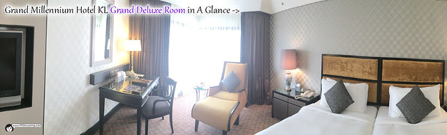 Grand Millennium KL Grand Deluxe Room Panorama