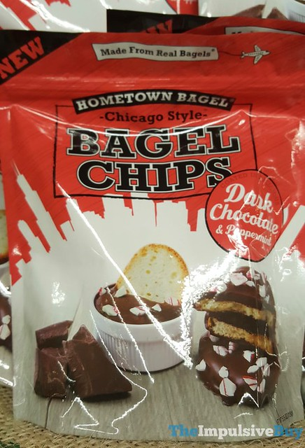 Hometown Bagel Dark Chocolate & Peppermint Bagel Chips