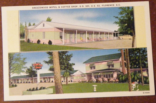 Breezewood Motel and Coffee Shop Florence front