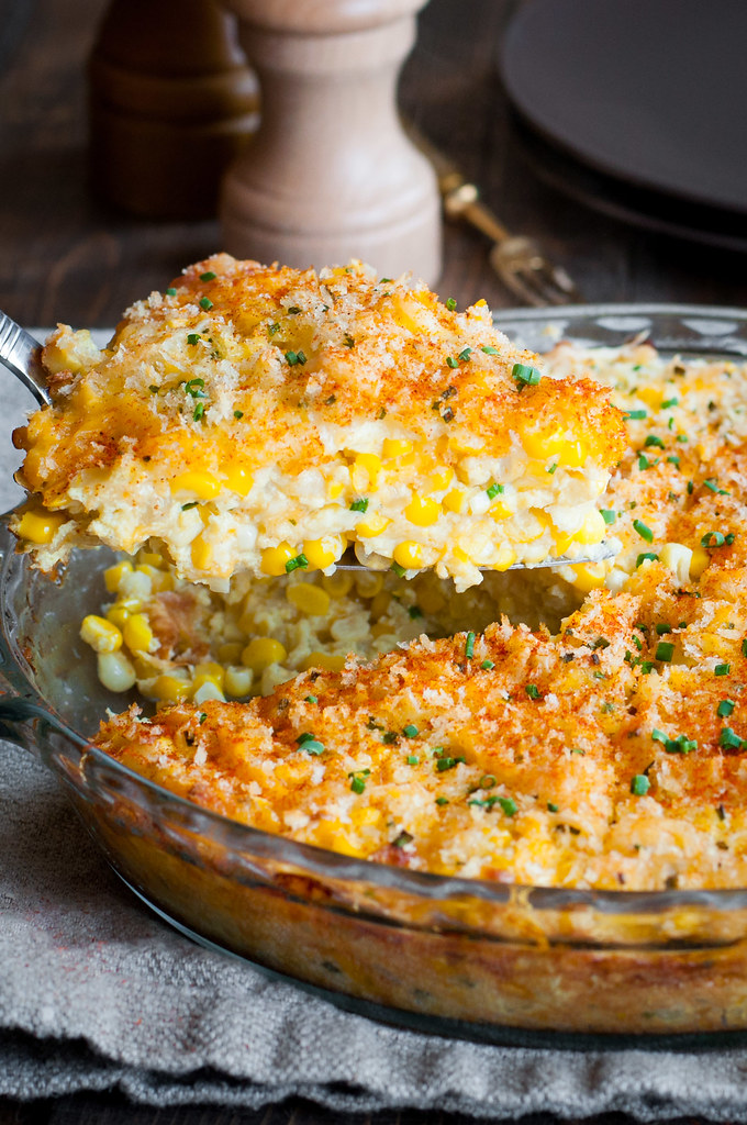 20 minute cheddar sweet corn pie