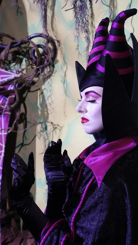 Maleficent at Disneyland Halloween Party