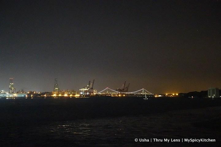 South Street Seaport, Pier 15, Verrazano Narrows Bridge