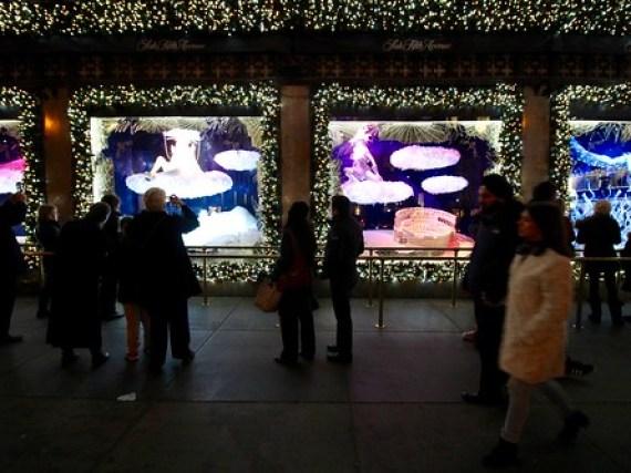 Saks Fifth Avenue Christmas Lightning