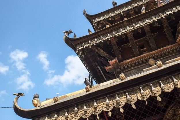 Annapurna Temple. Ason Tole, Kathmandu
