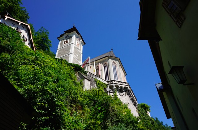 ハルシュタット 上の教会