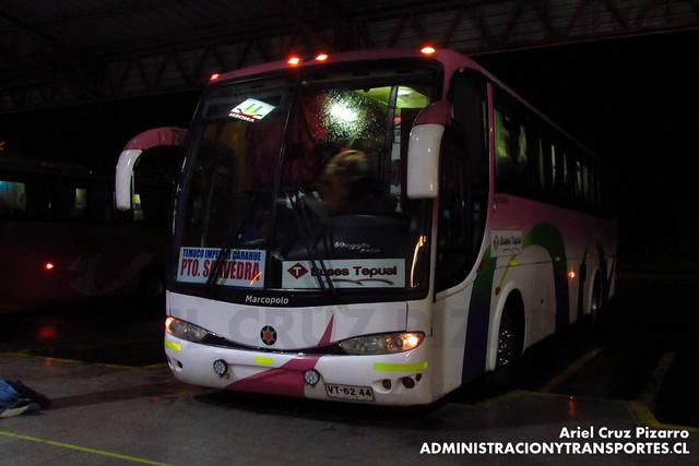 Buses Tepual - Temuco - Marcopolo Viaggio 1050 /