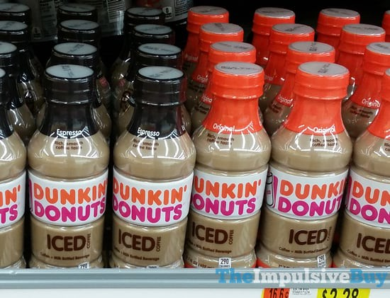 Dunkin' Donuts Bottled Iced Coffee (Espresso and Original)