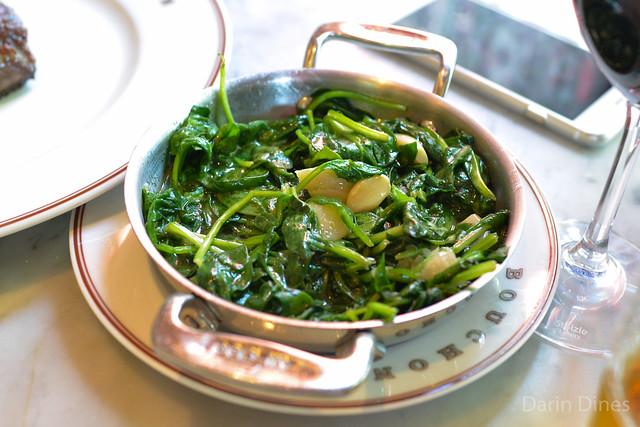 Épinards sautéed spinach