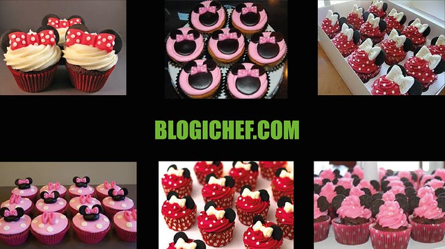 ¿Cómo Decorar Cupcakes de Minnie Mouse?