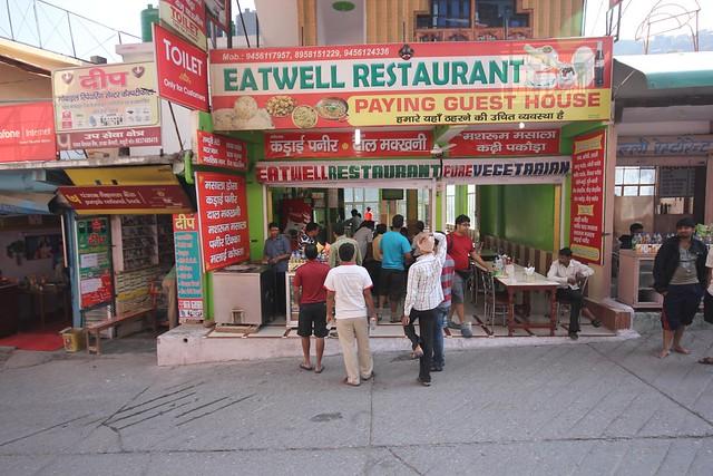 Eatwell restaurant near Kempty Falls on Massoorie-Sankri road.