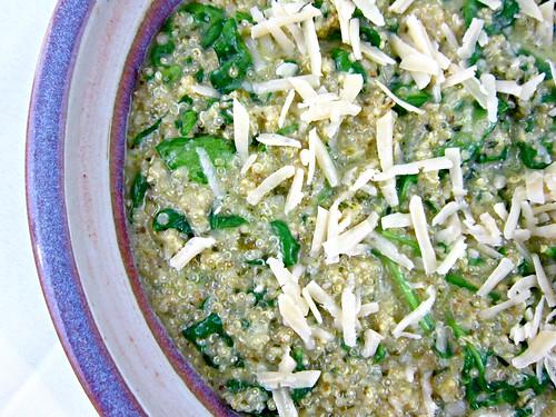 Spinach Pesto Quinoa 2