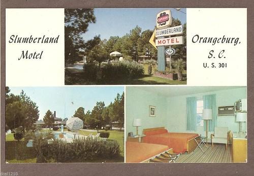 Slumberland Motel Orangeburg front