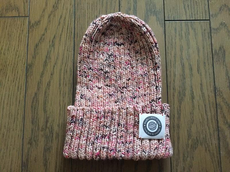 Simple rib hat