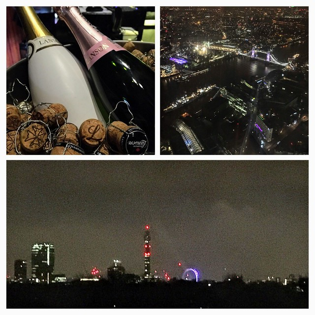 New Year's Eve celebrations in London
